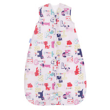 NEW Grobag Baby Sleeping bag 6 - 18  months 1.0 tog  - Alphapink  TRAVEL - 1 tog