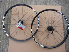 "26""  MX Wheels Mach1 Rims Shimano Deore Hubs Wheelset MTB Mountain Bike QR"