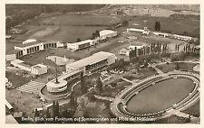 Deutsche Industrie-Ausstellung, Berlin 1952, Messe, Blick vom Funkturm
