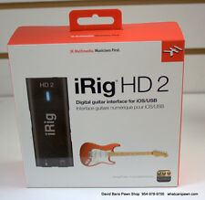 New IK Multimedia iRig 2 HD Guitar Interface to Record on Apple / Android!