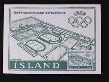 ISLAND MK 1980 OLYMPIA OLYMPICS MAXIMUMKARTE CARTE MAXIMUM CARD MC CM c5383
