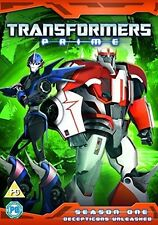 Transformers Prime - Season 1 Part 3 (Decepticons Unleashed) [DVD] [2013]Good PA