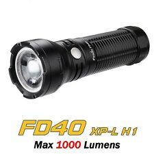 Torcia LED FENIX FD40 Variable Focus 1000 LUMENS Impermeabile *Nuovo Modello*