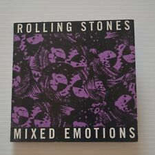 "ROLLING STONES - Mixed emotions - RARE WITHDRAWN DUTCH 1989 CDsingle 3"" 2-TRACKS"