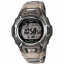 Men's Casio Shock Stainless Steel Tough Solar Atomic Digital Watch