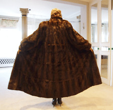 Exquisite Valentino Couture Real Fur Finest Mink Coat Full Length 12-14-16-18