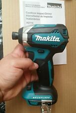 Makita XDT13Z 18V LXT Brushless Impact Driver-3YR WARRANTY- TOOL ONLY- 2LED