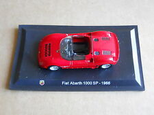 Leo Models CAR DIE CAST 1:43 NEW - FIAT ABARTH 1000 SP 1966 [MV-9 ]