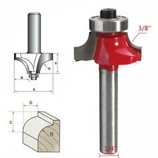 "1/4""x3/8"" Round Corners Over Beading Edging Router Bit Steel Cutter Tool"