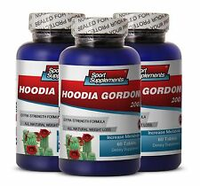 Natural Appetite Control - Hoodia Gordonii 2000mg  - Super Fat Burning Caps 3B