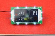 Digital Time clock Voltage Temperature Display 12v 24v Car interior/ wate tank