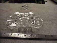 Clear Glass Candy Tray, No markings
