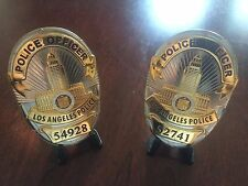 *OBSOLETE* End of Watch LAPD Movie Prop Badge DVD Los Angeles Police Department