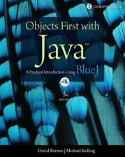 Objects First with Java: A Practical Introduction Using BlueJ 5th Edition