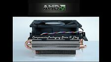 AMD Socket AM3+ AM2+ CPU Cooler Fan with Near Silent Feature for FX Phenom - New