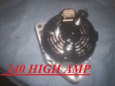 Toyota Supra 3.0L 240 High Amp Alternator 1993 1994 95 96 97 1998 w/ Turbo w/ MT