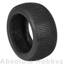 AKA EVO Impact 1/8 Truggy Tires (Medium - Long Wear) (2) - AKA14117ZR