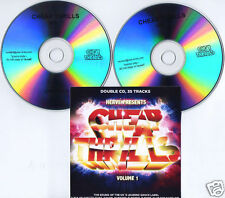 HERVE presents CHEAP THRILLS Vol 1 UK promo test 2-CD Jack Beats Fake Blood