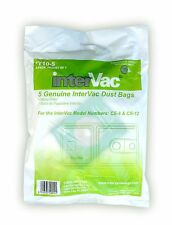 5 Replacement Hypo Allergenic Dust Bags & 1 Motor Filter for Intervac CS6 CS8