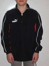 PUMA 1/2 ZIP SWEAT [GR. 116 ] FUßBALL SHIRT TRAININGSPULLI SWEATSHIRT NEU & OVP
