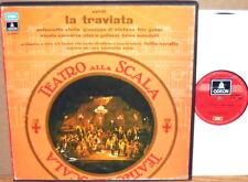 2 LP BOX EMI ODEON ITALY Verdi LA TRAVIATA di Stefano Gobbi SERAFIN 163-00972/73