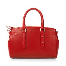 Aspinal of London Brook Street Bag in Berry Lizard
