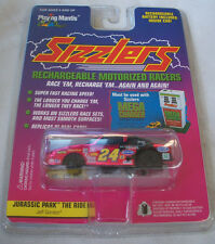 Sizzlers JEFF GORDON Jurassic Park CHROME RECHARGEABLE RACER Playing Mantis NEW