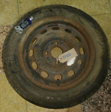 Ford Fiesta Spare Steel Wheel with Tyre 185 55 14 with tyre 7mm tread Year 2000