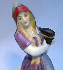 ART DECO TUSCAN PLANT  FIGURE MISS HOLLAND