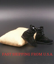 """1/6 Soldier Assault Combat Boots B For 12"""" Hot Toys Phicen Female Figure ❶USA❶"""