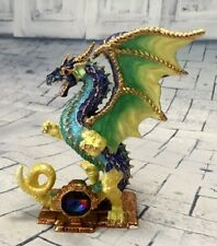Gelidus Dragon - Crystal Mementos Pewter and Coloured Enamel Figurine