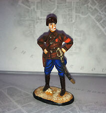 Russian Civil War Red Army commissar hand painted metal 54mm Made in Russia