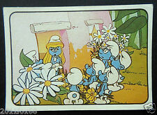 figurines cromos los pitufos cards figurine i puffi 89 panini 1982 the smurfs gq