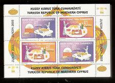 CEPT Europa 2005 Türkisch Zypern 100 x Block 23 postfrisch, KW 700,00€