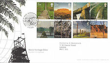 21 APRIL 2005 WORLD HERITAGE SITES ROYAL MAIL FIRST DAY COVER BLENHEIM PALACE a