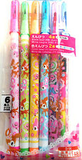Kawaii 6P ROCKET PENCIL set  goodies bag reward cute Japanese stationery pencils