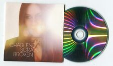 Charlene Soraia - cd-PROMO - BROKEN © 2013 EU-2-track-CD - Pop