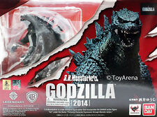 "In STOCK S.H. Monster Arts ""Godzilla"" 2014 Movie (Modern) Bandai Action Figure"