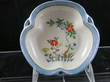 Made in Japan  Trinket Dish Luster Ware Decorated with Flowers