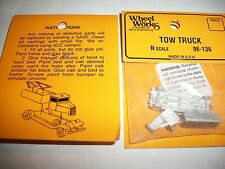 Wheel Works Vehicles N Scale Vintage Tow Truck White Metal Casting Kit BTTG