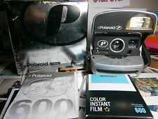 Film inclusive **GOOD Polaroid P 600 Instant Camera +READY TO SHOOT PACKAGE