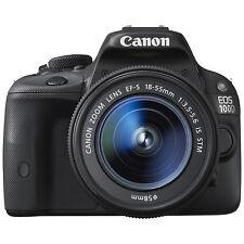 Canon EOS 100D 18.0MP Digital SLR Camera - Black (Kit w/ 18-55mm Lens)