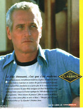 PUBLICITE ADVERTISING 075  2002  CINE CLASSICS  PAUL NEWMANN
