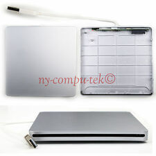 USB External CASE Slot in DVD Drive Burner Superdrive For Apple MacBook Pro Air
