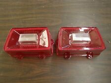 NOS 1969 Ford Galaxie 500 XL LTD Rear Tail Light Lenses - Lamp Lens