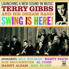 Terry Gibbs - LAUNCHING A NEW SOUND IN MUSIC + SWING IS HERE (2 LPS ON 1 CD)