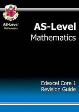 AS-Level Maths Edexcel Core 1 Revision Guide by CGP Books (Paperback, 2004)