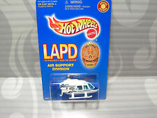 1999 HOT WHEELS ''LAPD'' = AIR SUPPORT DIVISION POLICE HELICOPTER =  WHITE