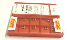 10 Wendeplatten inserts  LCMX 02 02 04C 53 1020 von Sandvik Neu OVP H2603