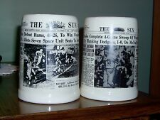 VINTAGE- 2-THE BALTIMORE SUN-ORIOLES WORLD SERIES 1966 & COLTS WIN TITLE  1959